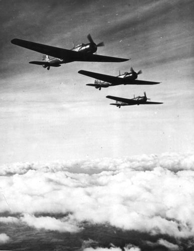 5 November 1938 - Three Vickers Wellesley aircraft powered by the Bristol Pegasus XXII engine under command of Squadron Leader Richard Kellett flew non-stop for two days from Ismailia, Egypt to Darwin, Australia (7,158 miles) without refuelling, setting a world distance record. This flight is still the longest by an aircraft with a single piston engine.Credit: BAE Systems via Brooklands Museum