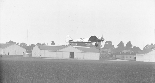 9 December 1941 - During WW2, an attack on Singora airfield in Malaya was planned, but Butterworth airfield was attacked by Japanese aircraft when the British force was preparing to take off, with only one Blenheim I, piloted by Squadron Leader Arthur Scarf of 62 Squadron getting away, carrying out a single-handed attack on Singora. His Blenheim was heavily damaged by Japanese fighters and anti-aircraft fire, badly injuring Scarf. Despite his injuries, he managed to make a forced landing at Alor Star, saving the rest of his crew. He died in hospital that evening. Scarf was eventually posthumously awarded the Victoria Cross for his actions that day.Credit: BAE Systems