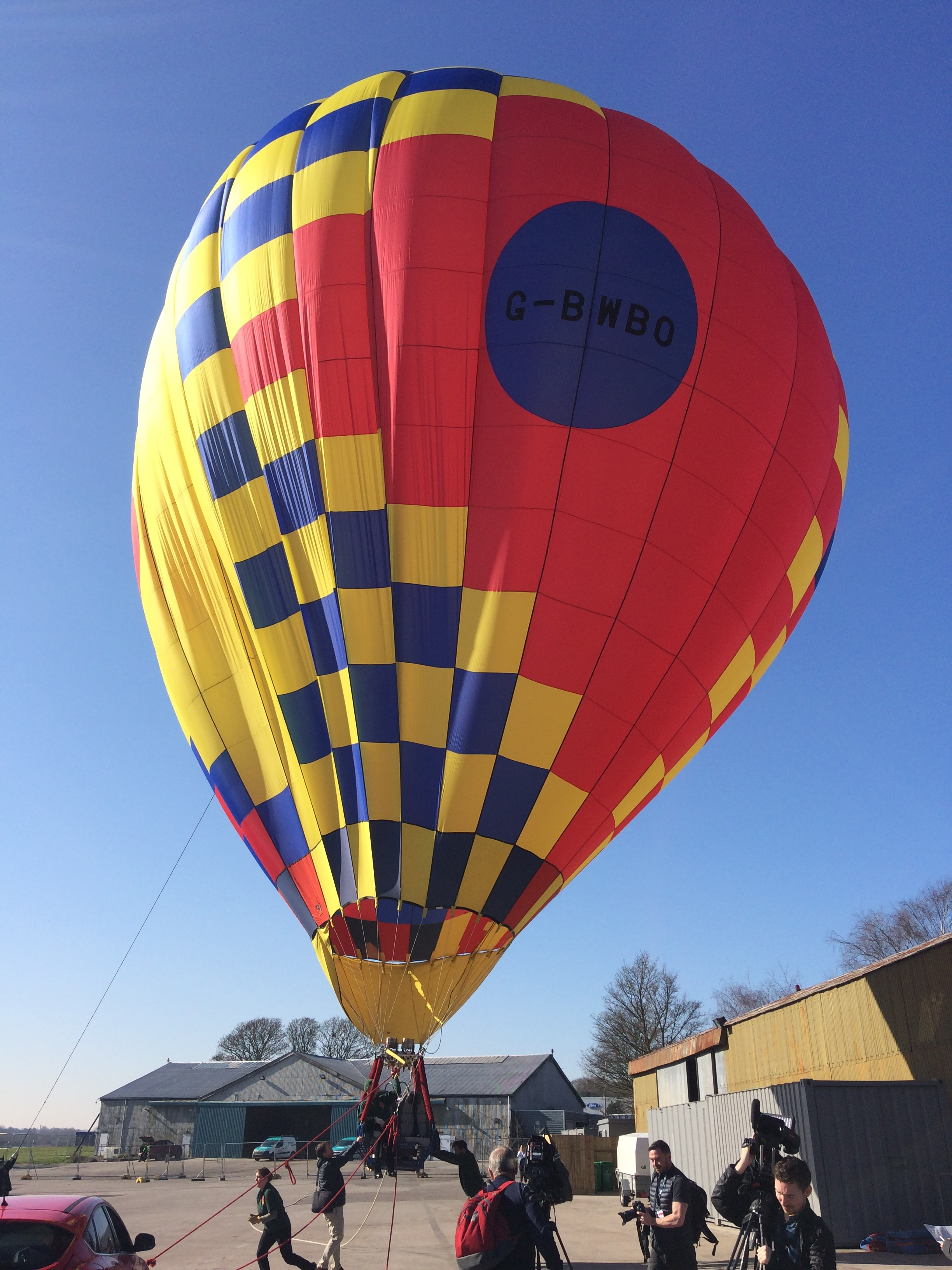Bristol International Balloon Fiesta 2019 launch