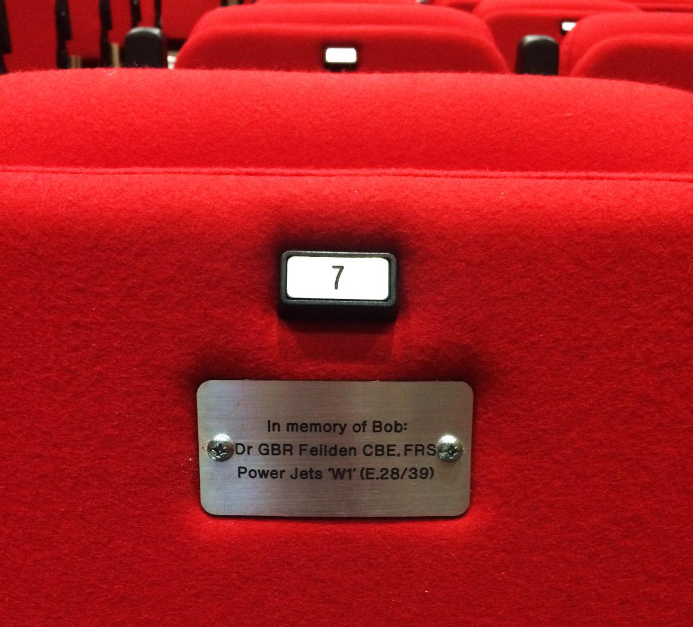 Lecture Theatre seat