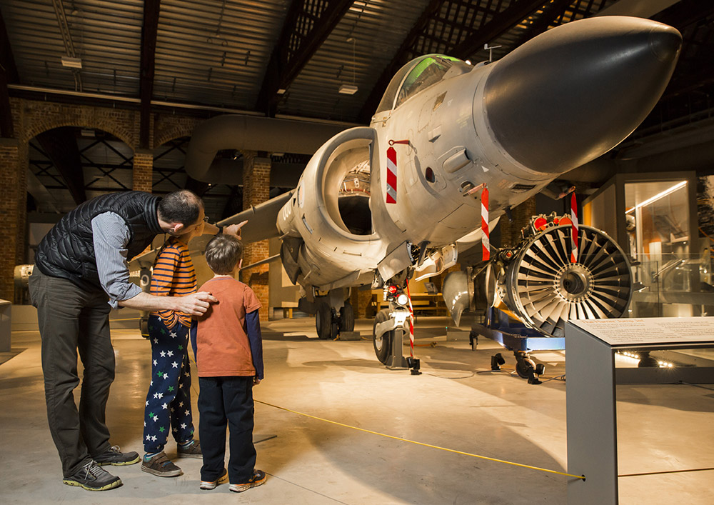 Treat Dad to gift tickets at Aerospace Bristol this Father's Day