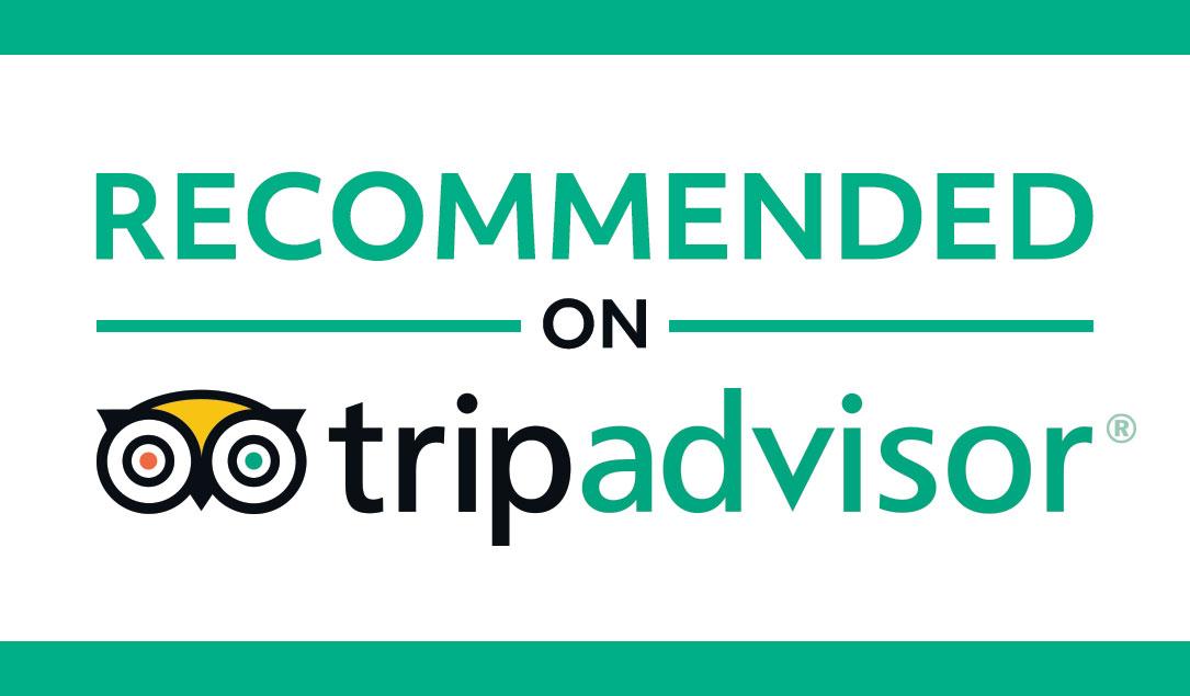 Tripadvisor logo.