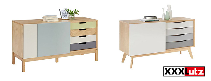 (L-R)  Chaser sideboard  and  Avon sideboard