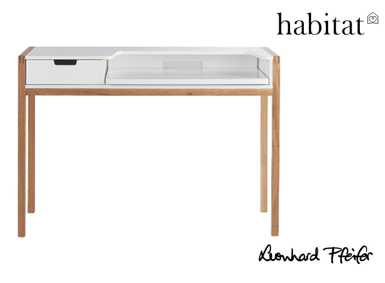 And our great Farrindgon Laptop Desk, AKA  Quint, available from Habitat UK