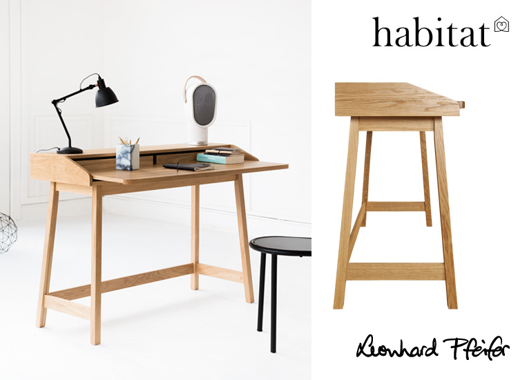 The gorgeous  ST JAMES WRITING DESK, from Habitat France