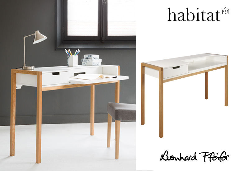 FARRINGDON LAPTOP DESK, a popular choice and great small footprint desk, available from Habitat France