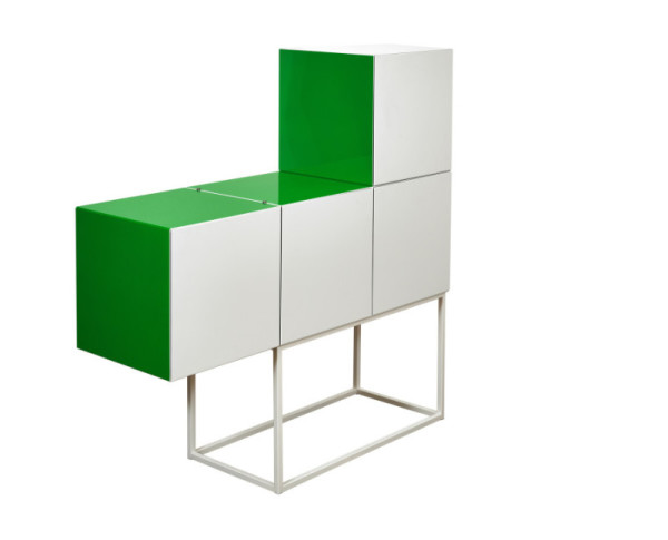 Pop Up console & cabinet