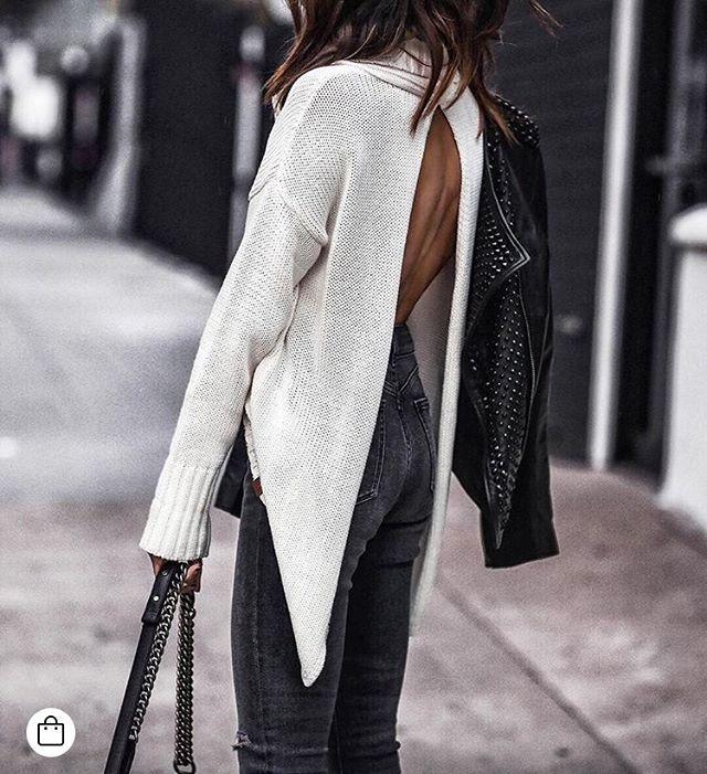 KNITS + DENIM ✔️✔️ fashionpost #fashioninspo @oneteaspoon_