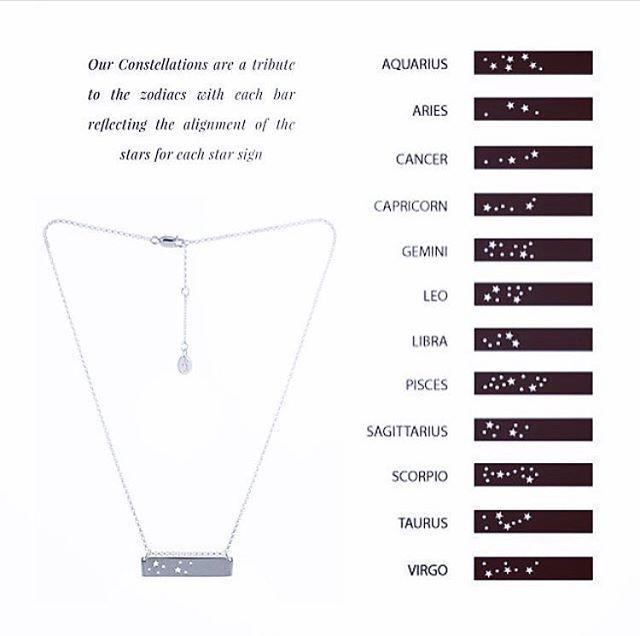 GS CONSTELLATION DESIGN ARE BACK #limitedstockonly #graceandscarperoriginaldesign #constellation #zodiac #specialgift #handmadejewellery #love #friendship #family #fashionpost #fashion
