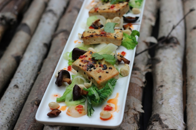 Tofu is a delicious source of protein -
