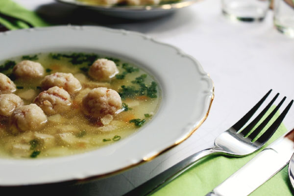 SOUPS - You can add heartier foods like broths and light soups. Stay away from the creamy stuff.