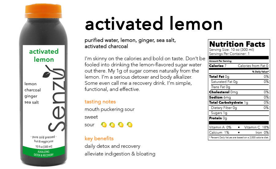 activated lemon is A Great body alkalizer to help your body rebalance after some questionable eating choices.