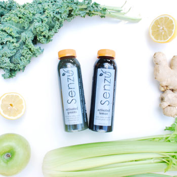 Sample Box - A variety pack of our most popular juices. It runs the rainbow from sweeter to greener, from fruit to uber veggie.