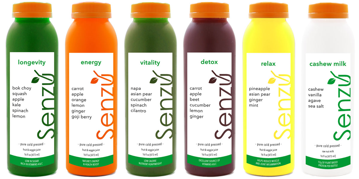senzu 3 day intermediate juice cleanse