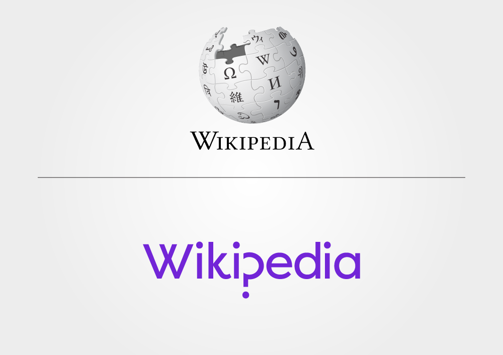 The Wikipedia before and after.