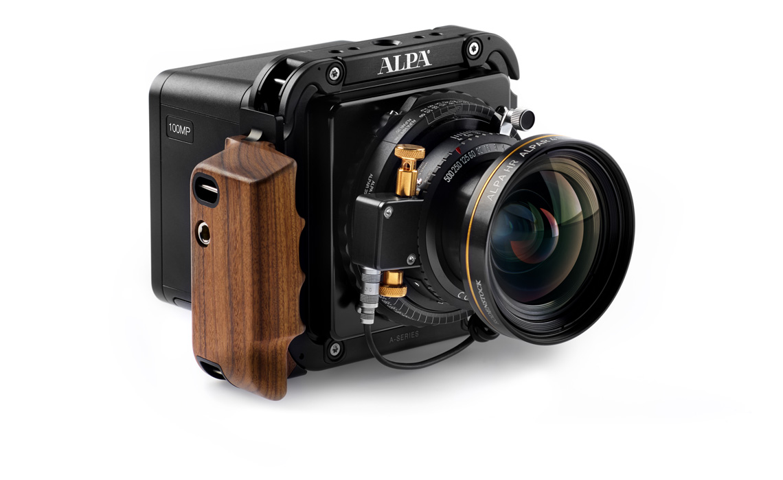 This is the camera I want. Isn't it gorgeous? The Alpa 12