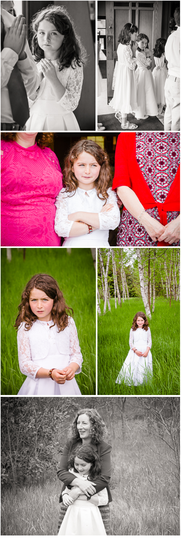 Karen Whylie Photography First Communion