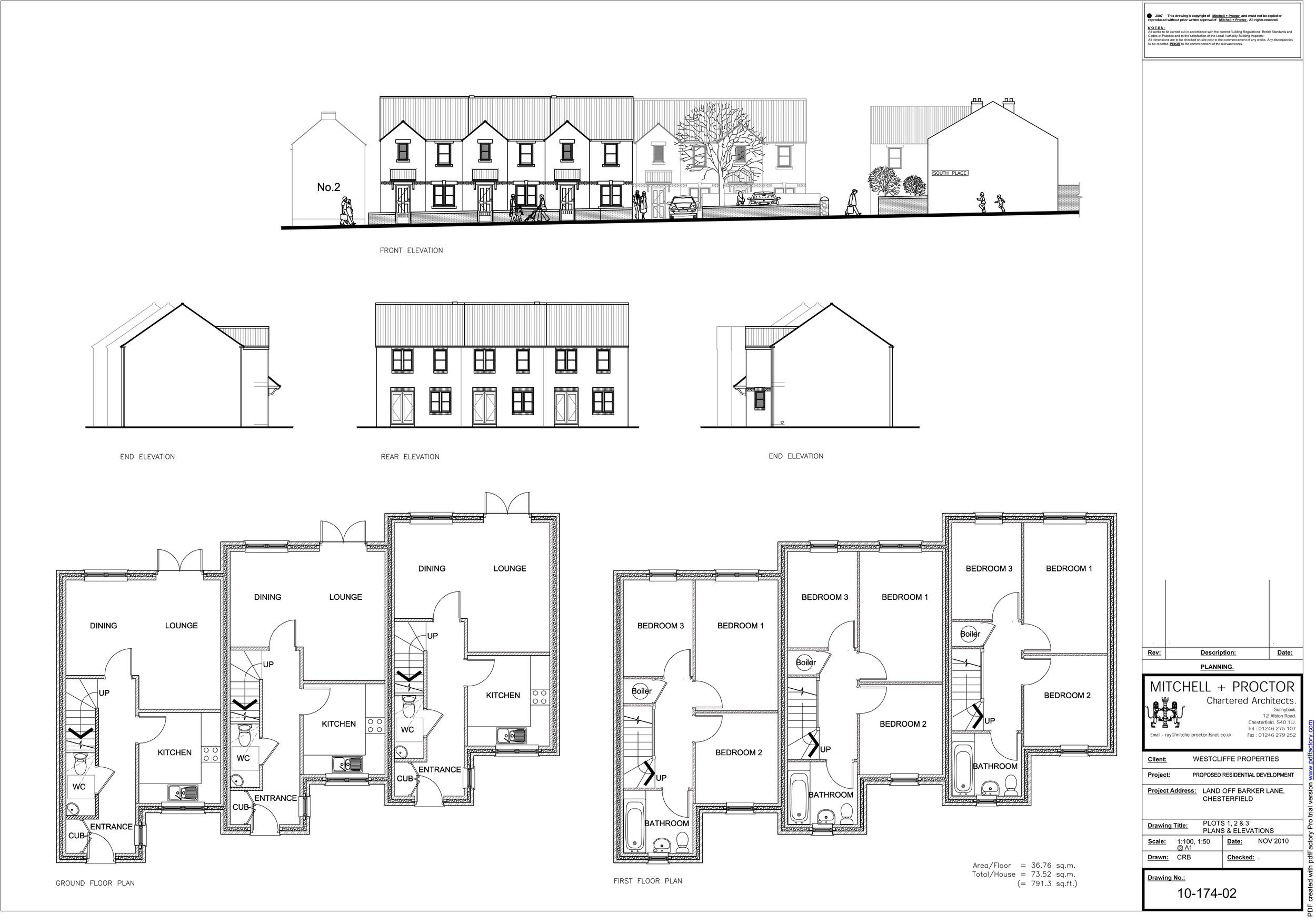 Barker Lane plots 1-3   Download the plans