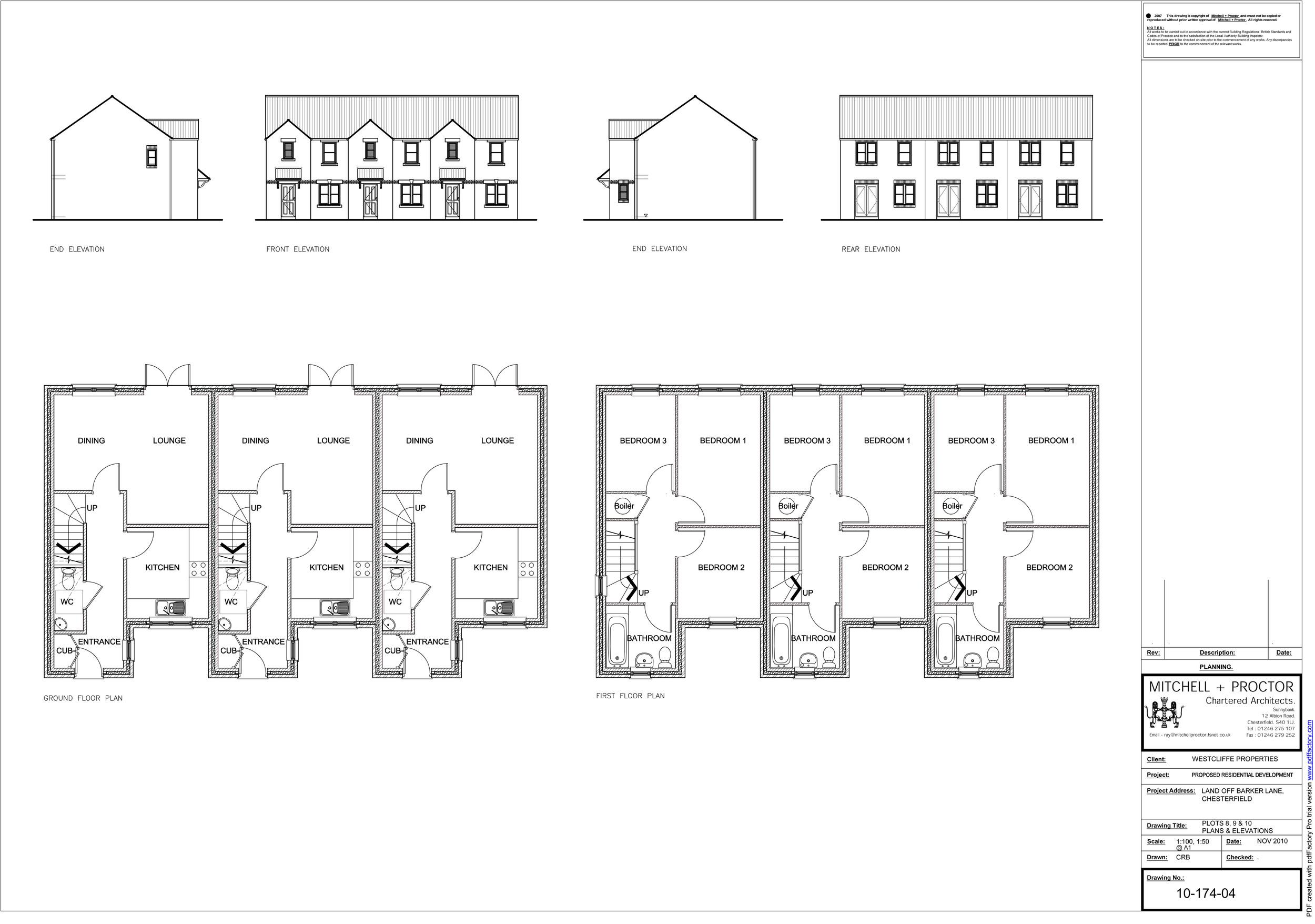 Barker Lane plots 8-10   Download the plans