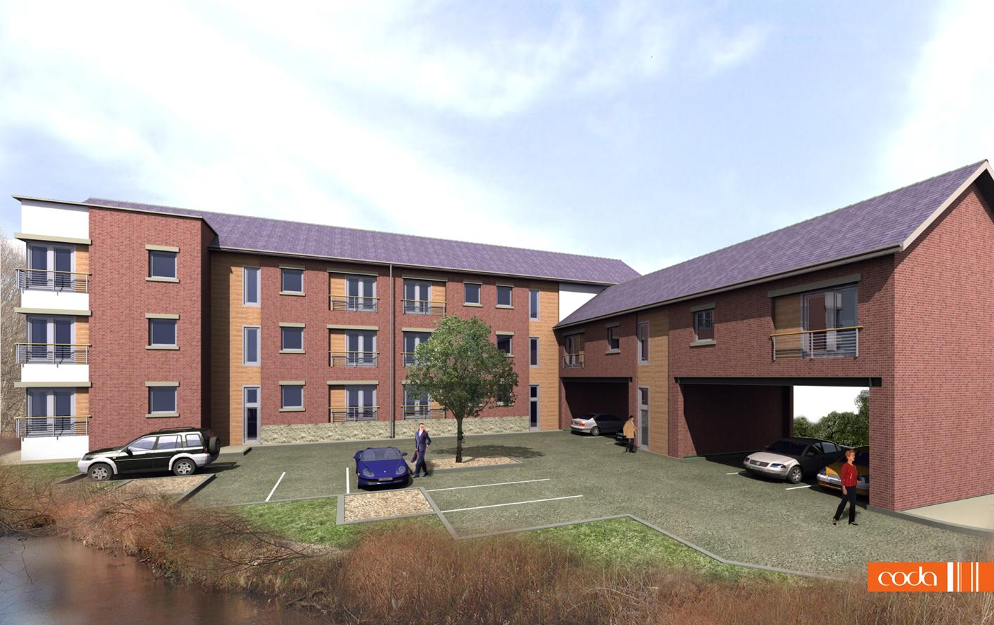HIPPER STREET→   Residential development in the heart of Chesterfield