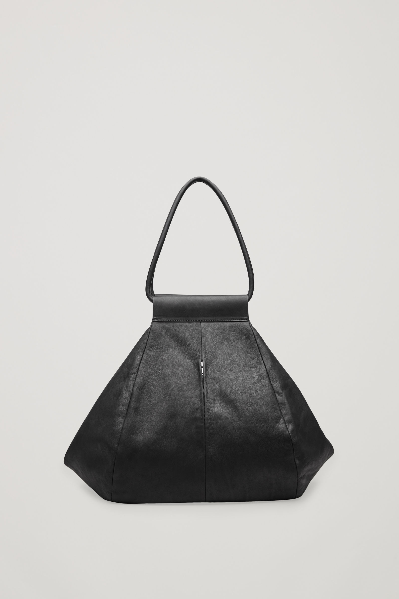 COS folded leather tote bag $285