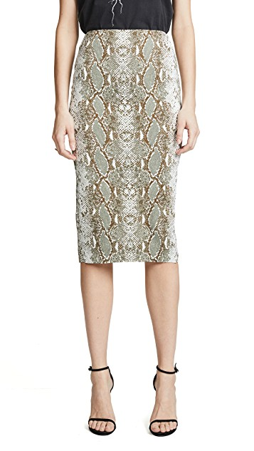 "THIS DVF SKIRT IS LIFE! It is the exact same cut as the one that I am wearing in the last ""frame"" with white sneakers. The print I have on in video is no longer available."