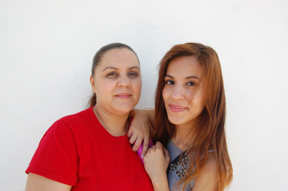 Southwest Creations, Hacia la Universidad: Employee Tere and her daughter Evelyn, 12th grade