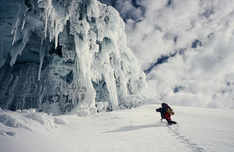 On the 2nd ascent/1st British of the Arista del Sol Integrale, Chimborazo, Ecuador