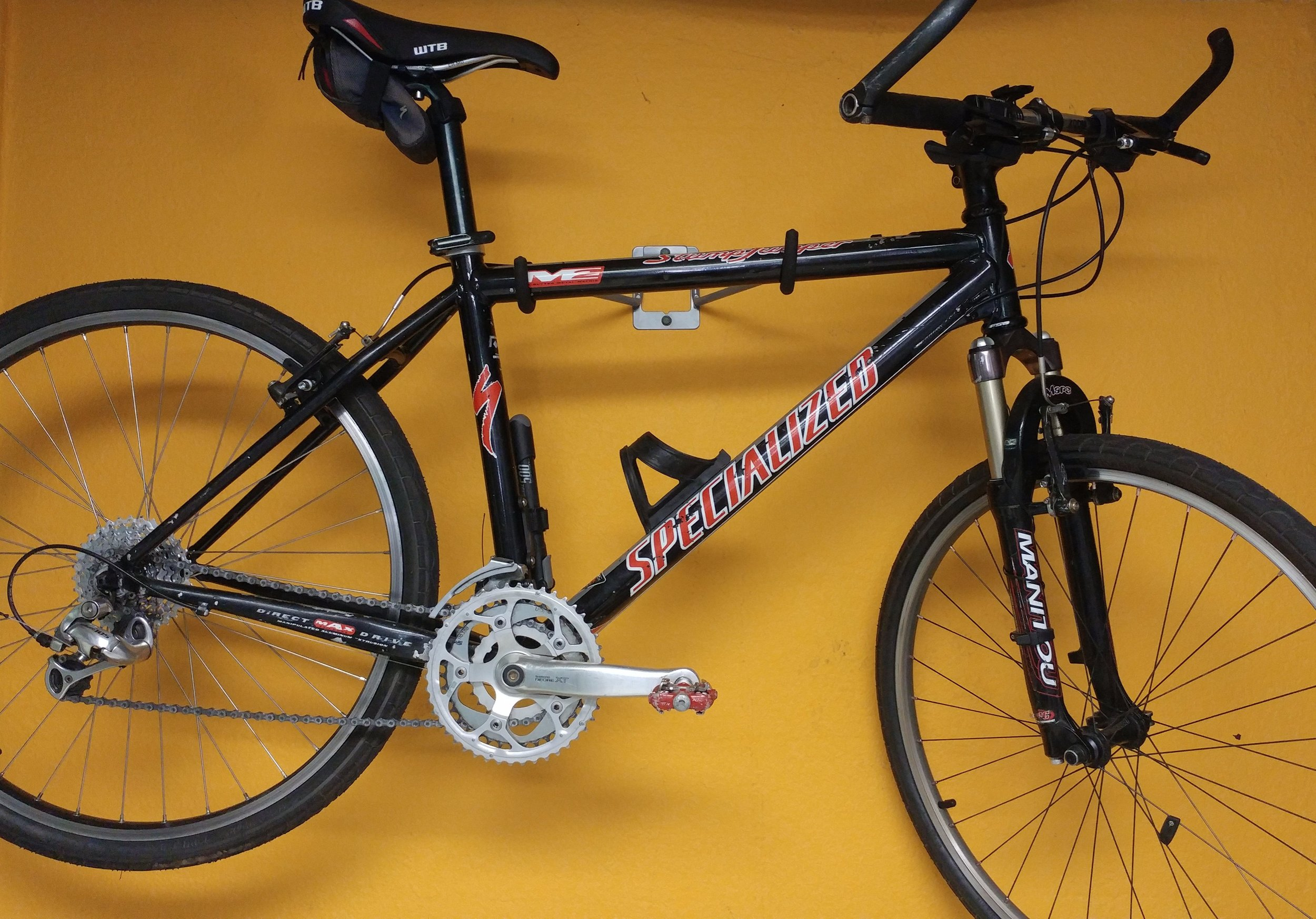 Want to buy a bike? - Click on the Specialized (the bike to the left) to tell us what you're looking for!All bikes in our inventory are donated/used, and refurbished to generate revenue for our mission programs. We can work with most budgets to get you rolling. Ask us about safety and maintenance classes too!