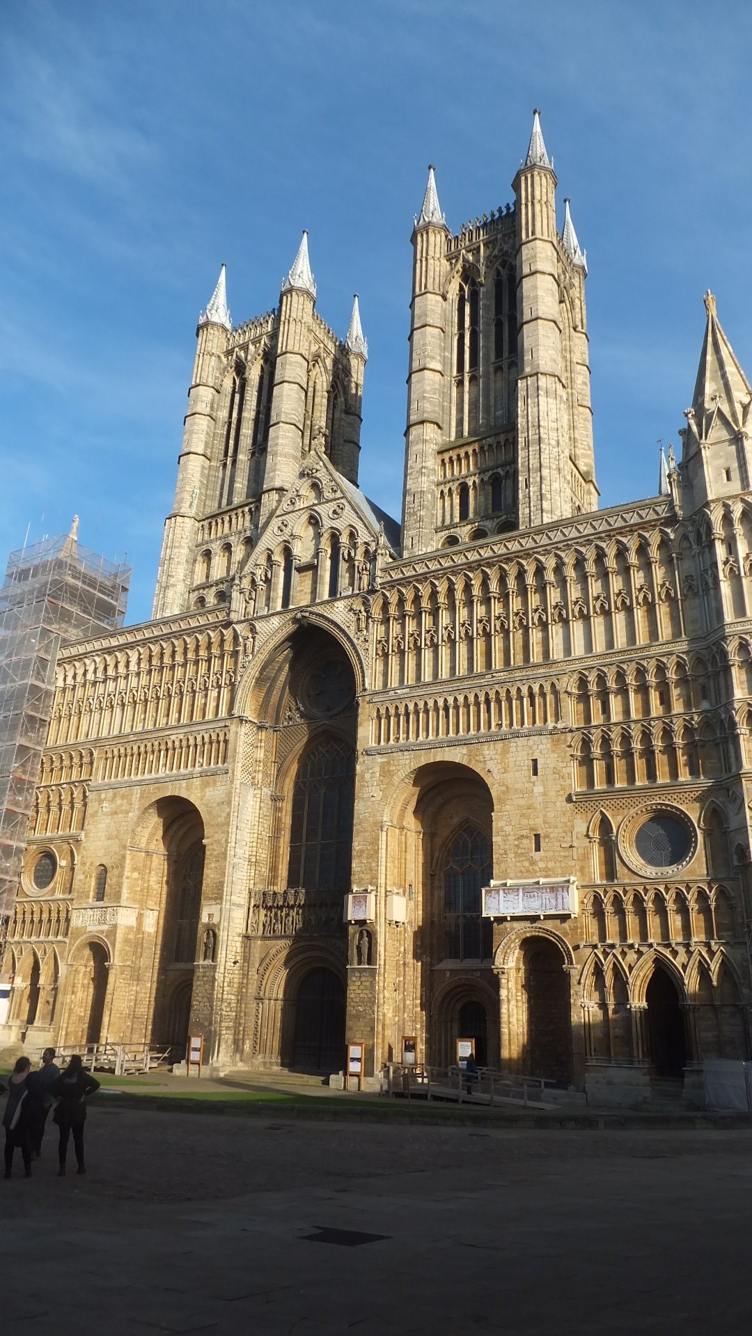 The majestic Lincoln Cathedral.