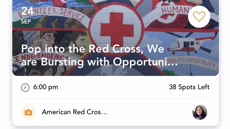 Red Cross: Volunteer Opportunity Information - Tuesday, Sept. 24