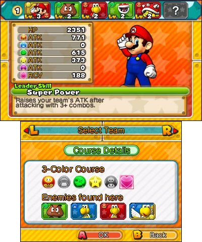 Download the free demo version of Puzzle & Dragons Super Mario Bros. Edition before the full game launches in stores and in the Nintendo eShop. Intuitive drag-and-match puzzle game play and classic Mushroom Kingdom characters combine to create one of the most unique puzzle/RPG games ever.