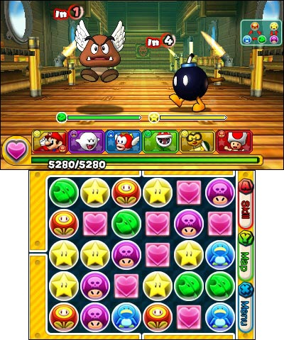 Rescue Princess Peach from Bowser in Puzzle & Dragons Super Mario Bros. Edition or defeat the evil group Paradox by battling enemies with the awesome power of Orbs in Puzzle & Dragons Z. (Photo: Business Wire)