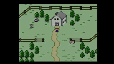Find out what's causing strange phenomena in the first-ever U.S. release of the EarthBound Beginnings game! (Photo: Business Wire)