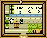 The advanced store in the Legend of Zelda oracle of ages and seasons was only accessible when playing the game on a game boy advanc hardware