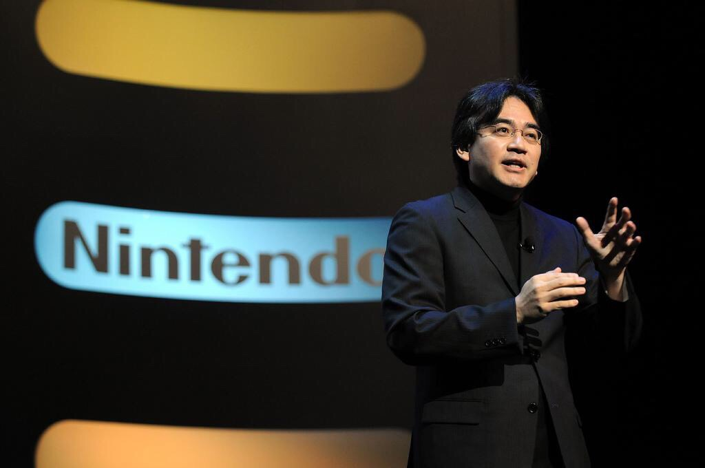 Iwata delivered many major speeches as President of Nintendo