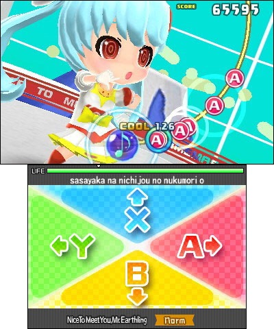 Hatsune Miku: Project Mirai DX is available now in the Nintendo eShop on Nintendo 3DS. (Photo: Business Wire)
