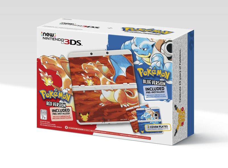 Smaller NEW 3DS also available in this pokemon bundle