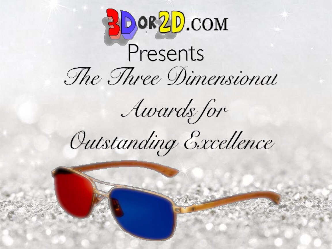 Who will win the golden 3D glasses?
