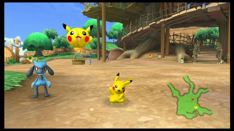 Play as Pikachu as you run, jump and smash your way through an action-packed adventure in PokéPark Wii: Pikachu's Adventure. (Graphic: Business Wire)
