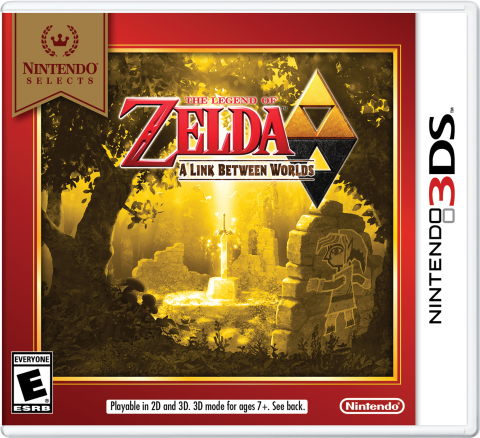 Starting on Feb. 5, The Legend of Zelda: A Link Between Worlds is joining the Nintendo Selects library and will be available at a suggested retail price of only $19.99. (Graphic: Business Wire)