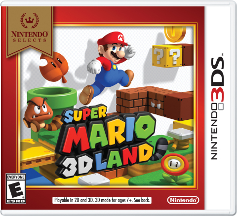 Starting on Feb. 5, Super Mario 3D Land is joining the Nintendo Selects library and will be available at a suggested retail price of only $19.99. (Graphic: Business Wire)