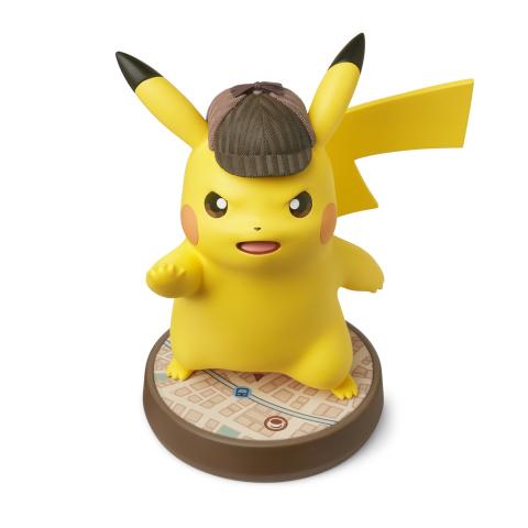 Dective Pikachu Amiibo