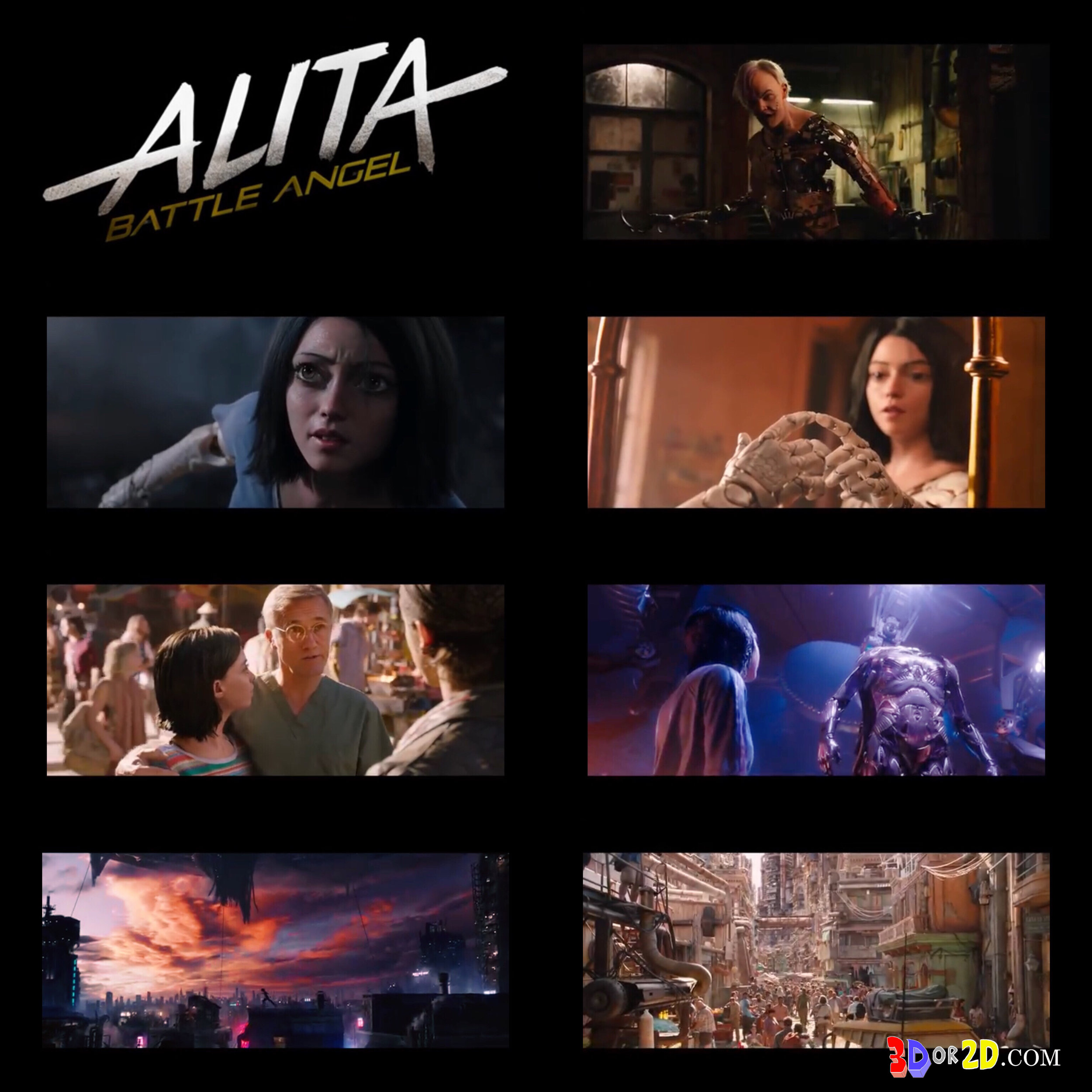 Photo Collage from the trailer