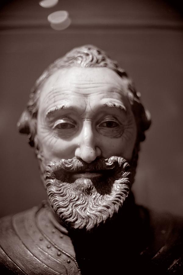 Paris - Musée Carnavalet, bust of Henri IV