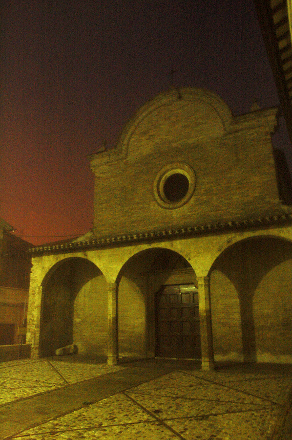 Montefalco, Italy - Chiesa di Santa Illuminata