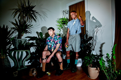 C  OMMISSIONED:  Photo and video fashion lookbook for New York based Earth_Trauma.