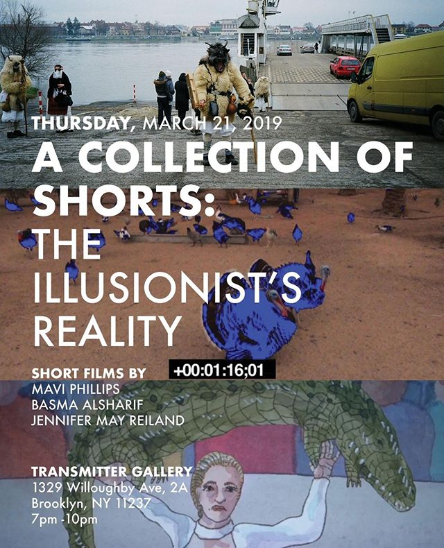 I would love to invite you to a screening next week on Thursday, March 21 at Transmitter Gallery @transmitternyc in Brooklyn of a documentary film I made during Busójárás Festival in Mohacs, Hungary. I programmed it with films by two other female filmmakers @basmaalsharif + @jennifermayreialnd, and I would love to see you there!!⁣ .⁣ .⁣ The series of films explore documentary filmmaking by pushing the boundaries of their medium and the act of storytelling. From the Hungarian countryside to the Gaza Strip to animated illustrations of 17th century France, we're taken through an often transcendental journey of dreamlike representations of reality that takes into question the subjectivity of the world around us and bring to our attention, through the female gaze, important questions about the nature of humanity. ⁣ .⁣ .⁣ Come by for the screening, stay for the conversation and drinks. Hope to see you next week! ❤️ 📽 🎞⁣