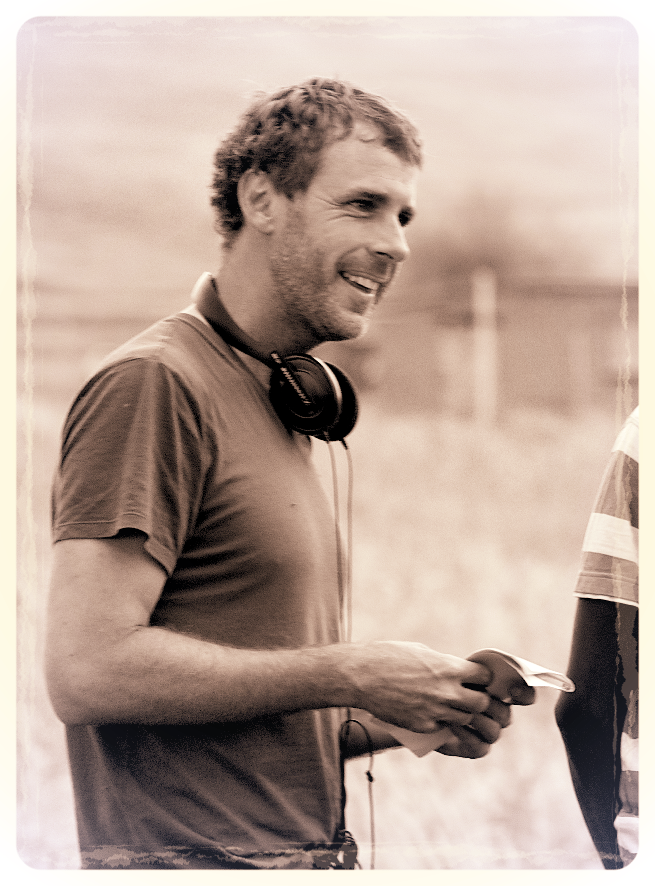 Writer/Director Andrew Mudge