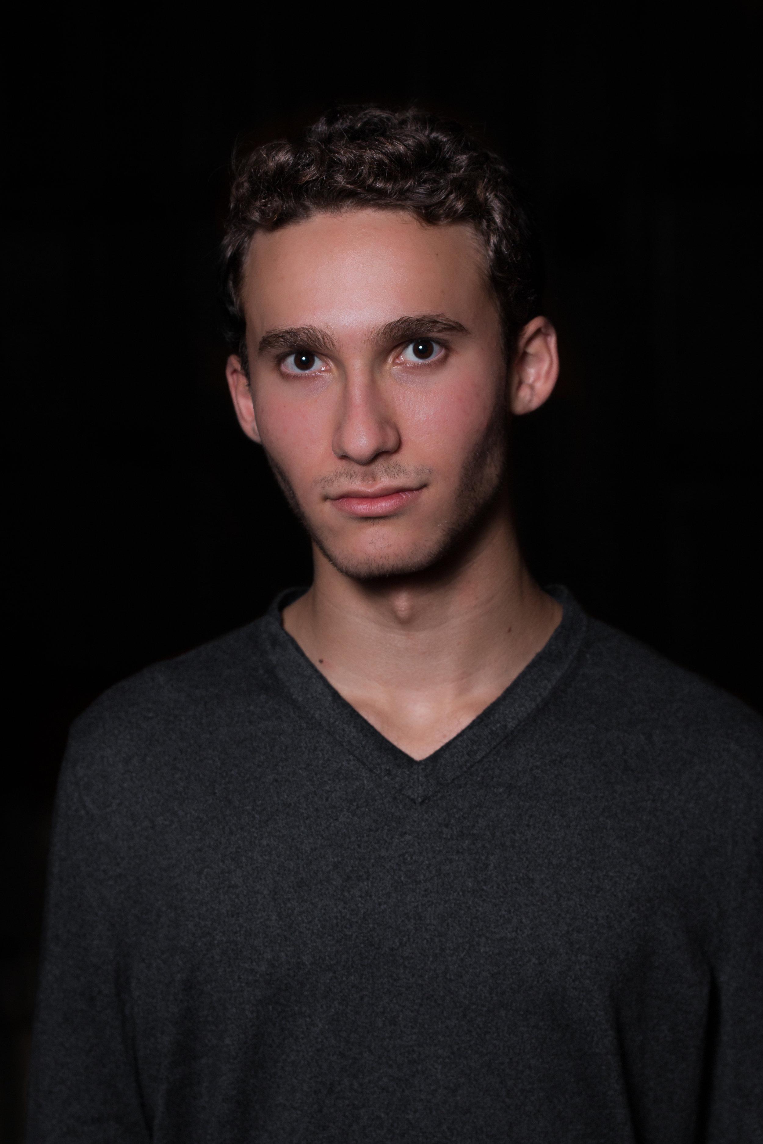 """Adam Benamram  '22 - Baritone/Tenor  Major - Undeclared  Random Fact -  """"I eat Doritos with chopsticks like you're meant to"""""""